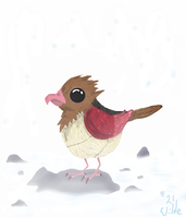 021 Spearow by twitchSKETCH