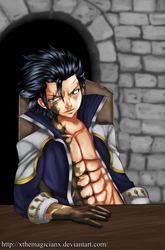 Fairy Tail 424 - Avatar Gray fullbuster by xTheMagicianx