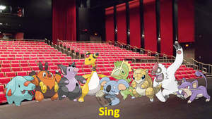 Sing (Pokemon Version) Cast