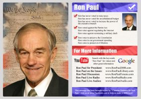 Ron Paul Commission by KoopaDasher