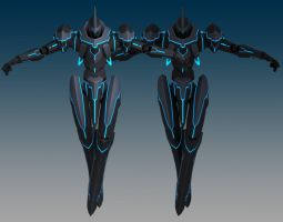 Mech Concept 01 Completed by Garm-r