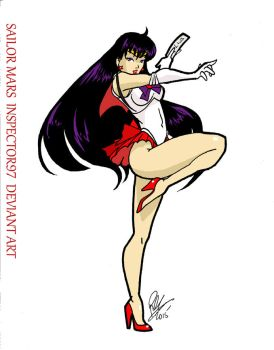 Sailor Mars by Inspector97