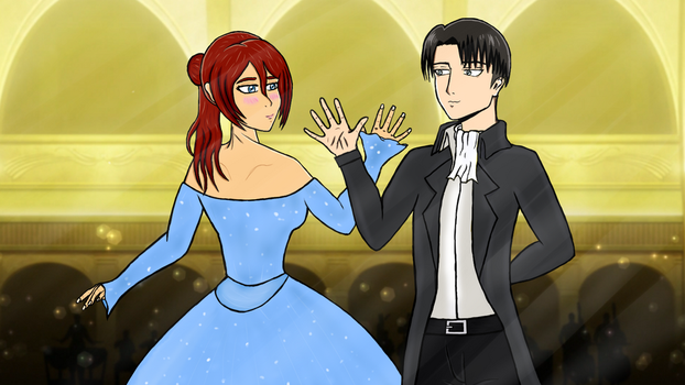 Tale as Old as Time // AOT Cross Over by SweetScarletSky