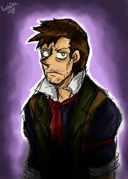 Booker DeWitt by AnimeLover594