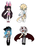 CLOSED|Cheap Adopts by Rikos-Adopts