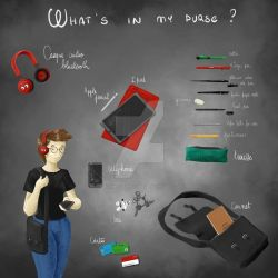 What's in my purse? by archinolifenotime