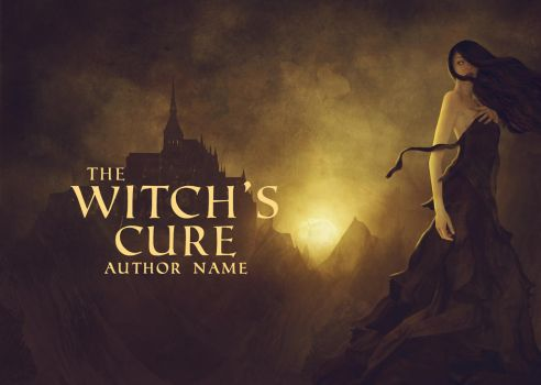 The Witch's Cure - PREMADE BOOK COVER by brillgk