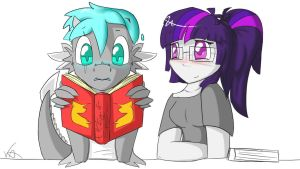 Learning to Read by Chrystalestia