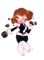 Chibi Uraraka by Where-Lies-Goes
