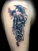 Angel by maximolutztattoo