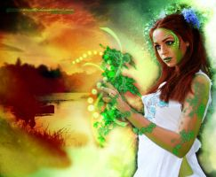 Fierce Earth Sorceress by MOMOroxette