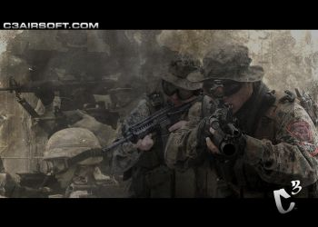 C3 Airsoft Wallpaper by Rjaniz