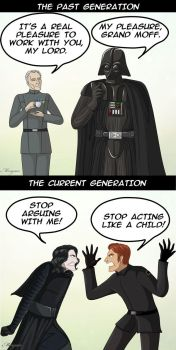 Dark Side generations by Morgaer