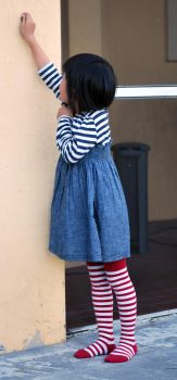 Striped Stockings by SBG-CrewStock