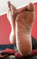 My HUGE SOLE in your face by Whor4cle