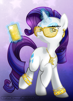 Rarity is Fabulous by Scorchie-Critter