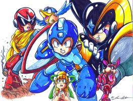 megaman group by trunks24
