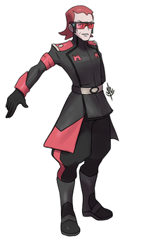 Magma Leader Maxie by jaeon009