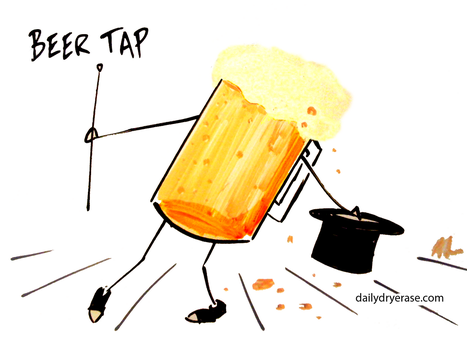 beer tap by adamcloud