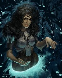 Water Witch by mirana