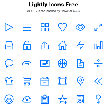 Lightly Icons Free by tmthymllr
