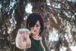Korra cosplay - Earth Kingdom outfit I. by mo-s-art