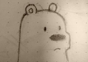 Ice Bear hates wacky filters. by BleachTomato