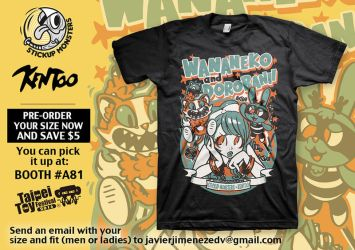 StickUp Monsters X Kentoo t-shirt by ExoesqueletoDV