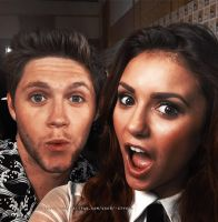Nina Dobrev and Niall Horan Manip by JIMMIXSTYKES