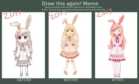 Draw this again bunny girl by MartianPudding