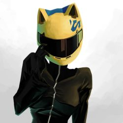 Celty Sturluson by RandoWis