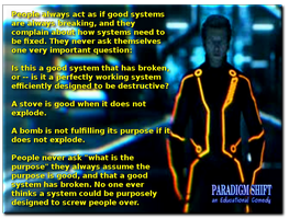 Perfect Systems by paradigm-shifting