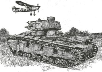 Training Day Panzerkampfagen Pz.NbFz VI by shank117