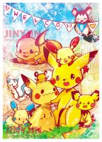 Welcome to the pika family by jinyjin