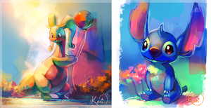 Color experiments by KoriArredondo
