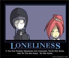 Lonliness by abaikgirl