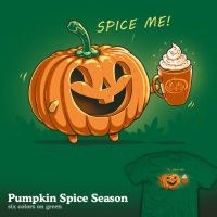 Pumpkin Spice Season - tee by InfinityWave
