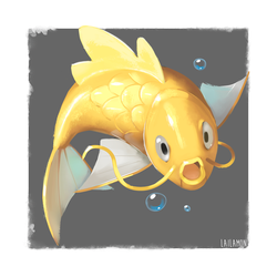 Magikarp by Lailamon