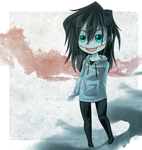 Jeff The Killer Chibi by kanogt