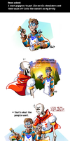 Undertale ask blog: the BROTP by JimPAVLICA