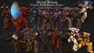 Horus Heresy Project Overview by ElhiAhcolee