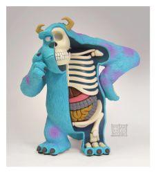 Sulley Dissected by freeny