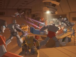 Transformers: Divide + Conquer by wannabegeorge
