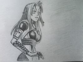 Face Tali (2) by spaceMAXmarine