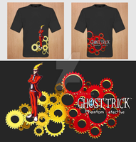 Ghost Trick Shirt Design by fridayivy