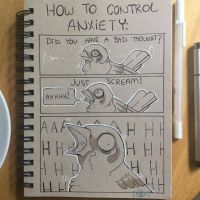 How to Control You Anxiety by SPARROUU