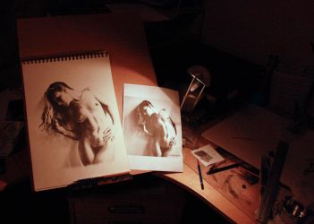 The drawing board by Strooitje