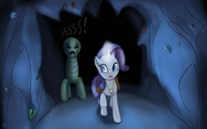 Rarity in cave by iOVERD