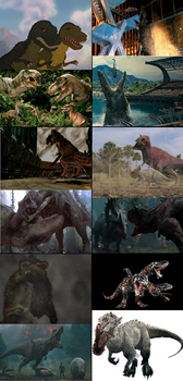 Predicted Jurassic Park/World Moments by Goji1999