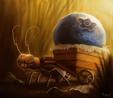 DAY 56. Ant Cart (40 Minutes) by Cryptid-Creations